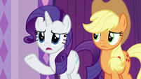 "Rarity ""maybe not everypony is waiting"" S6E10"