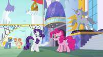 "Rarity ""we should flow towards some lunch"" S6E12"