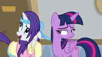 Rarity -their lessons really are impressive- S8E16