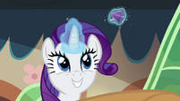 Rarity levitating jewel barrette S4E22