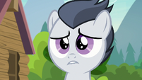 Rumble biting his lower lip S7E21