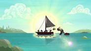 S06E22 Zabawa na łódce