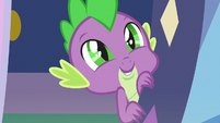 Spike happily calls Sludge -Dad- S8E24