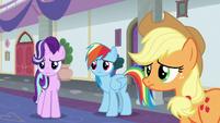 Starlight, Dash, and AJ losing hope in the school S8E1