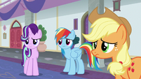 Starlight, Dash, and AJ losing hope in the school S8E1