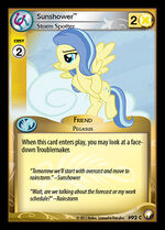 Sunshower, Storm Spotter card MLP CCG
