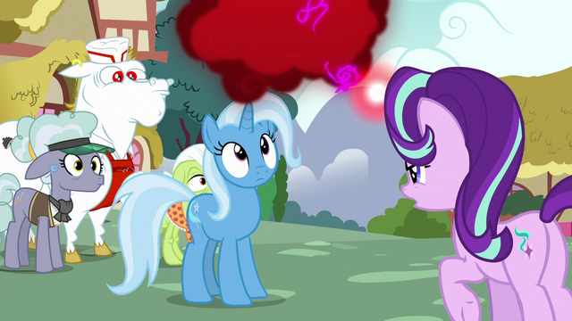 File:Trixie looks at Starlight's cloud of anger S7E2.png