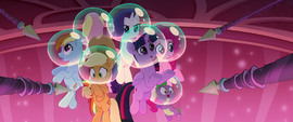 Twilight asking Novo about the Hippogriffs MLPTM