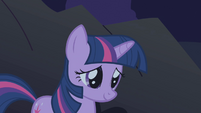 Twilight thinking of Fluttershy's kindness S1E2