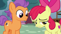 "Apple Bloom ""mopin' around for no reason"" S6E4"