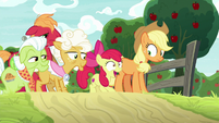 "Apple Bloom ""the Great Seedlin' was here!"" S9E10"