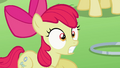 Apple Bloom reacted to Diamond Tiara's claim S2E06.png