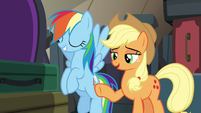 "Applejack ""you don't have to worry about that"" S6E18"