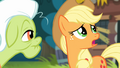 Applejack '...that I tore the wheel right off the raft' S4E09.png