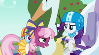 Cheerilee --usually the younger ponies drive-- S6E14
