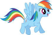 FANMADE Rainbow Dash vector by Xpesifeindx