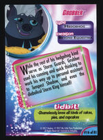 Grubber MLP The Movie trading card back