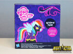MLP Collector Series Shadowbolt Rainbow Dash back of packaging