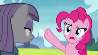 Pinkie Pie -sitting around with him- S8E3