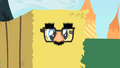Pinkie Pie inside a hay bale S1E25.png