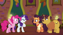 """Pinkie and Rarity """"just leave it to us!"""" S6E12"""