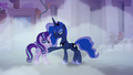 Princess Luna putting a hoof on Starlight Glimmer S6E25.png