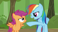 """Rainbow """"what's our move on the grape squish?"""" S5E17"""
