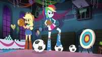 Rainbow Dash's sports theme EG2