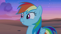 "Rainbow Dash ""there must be ponies here"" S7E18"