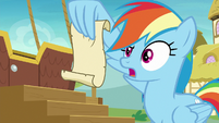 Rainbow Dash -make sure they get their naps- S8E5