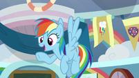 Rainbow Dash -when suddenly- S8E12