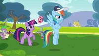 Rainbow Dash and Twilight S2E22