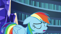Rainbow Dash sighing heavily S7E23