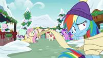 Rainbow gets caught in Twilight's list MLPBGE