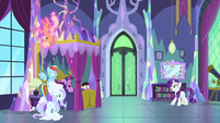 "Rarity ""we simply must find a cure!"" MLPS2"