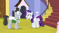 Rarity asking Jet Set for gemstones S9E13