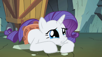 Rarity crying on floor S1E19