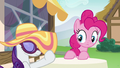 Rarity lowers her sun hat over her eyes S6E21.png