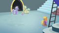 Royal guards approaching Spike S4E24.png