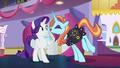 """Sassy Saddles """"bobbins and bodkins, Rarity!"""" S5E14.png"""