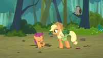 Scootaloo 'Heh, nothing' S3E06
