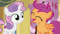Scootaloo --we are so awesome at it!-- S6E4