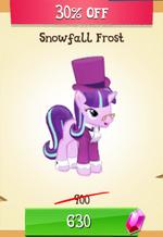 Snowfall Frost MLP Gameloft