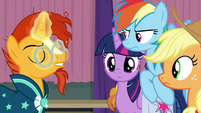 Sunburst looking very confident S9E16