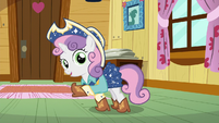 Sweetie Belle square-dancing S6E4