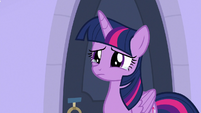 Twilight Sparkle getting teary-eyed S9E25