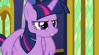 "Twilight bitter ""you seemed more worried"" S9E26"
