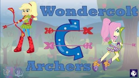 Wondercolt Archers MLP Equestria Girls Friendship Games Animation