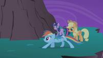 Applejack -Rainbow, quit it- S01E02