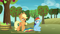 Applejack -tag along with a few other ponies- S8E5